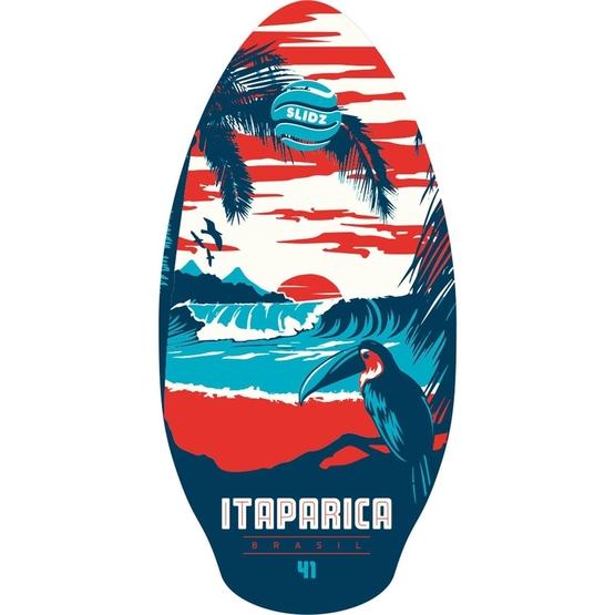 SLIDZ Skimboard 41 105cm Itaparica Red-Blue