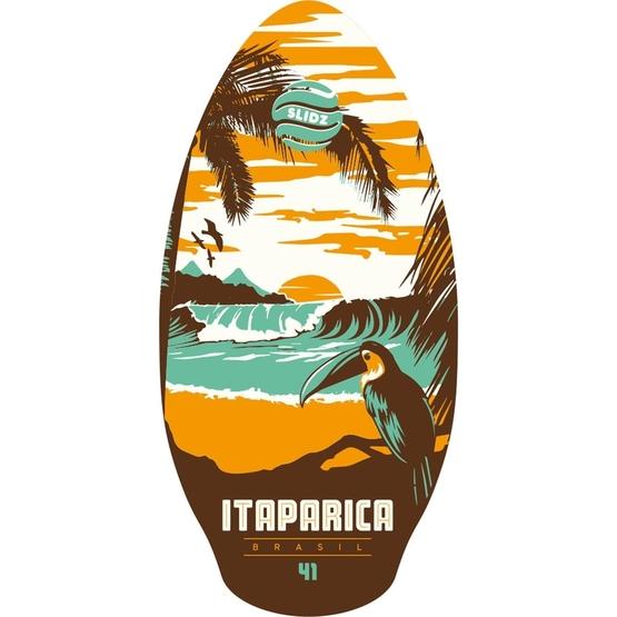 SLIDZ Skimboard 41 105cm Itaparica Orange-Aqua