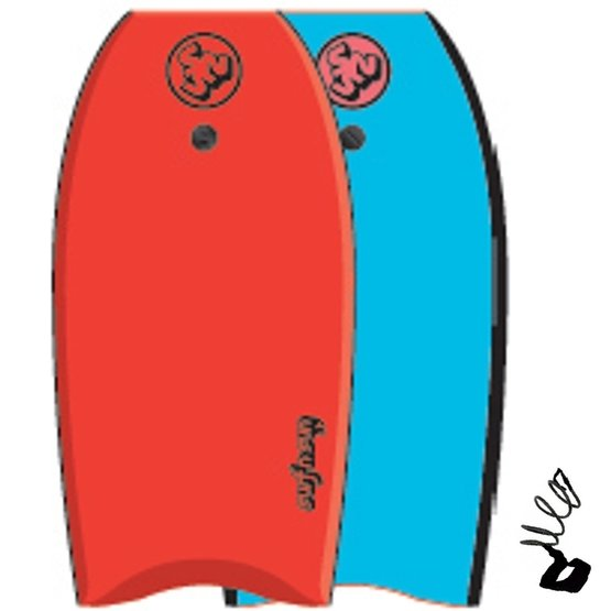 SURFSUN Bodyboard Similar 37 Red-Blue