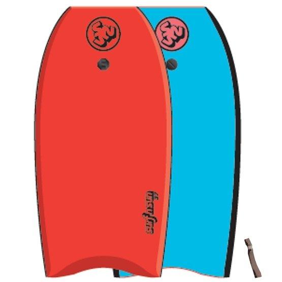 SURFSUN Bodyboard Similar 42 Red-Blue