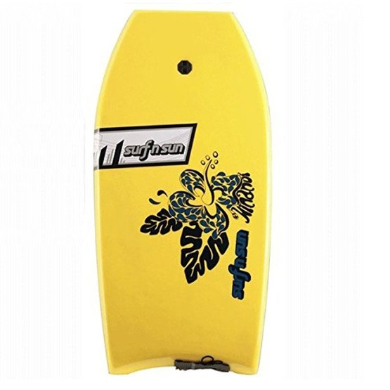 SURFSUN Bodyboard Hinanui 41 Yellow-Black