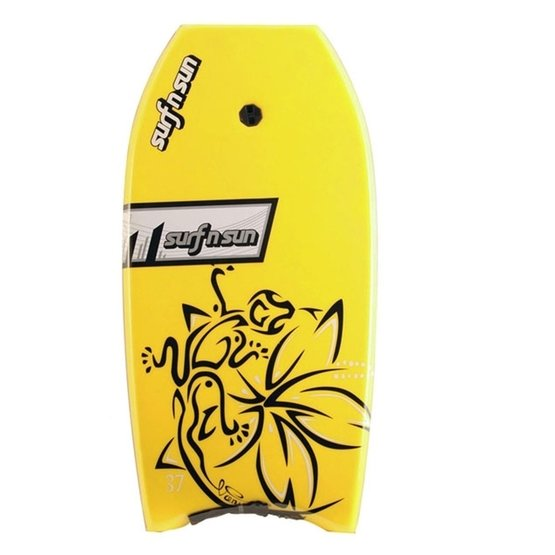 SURFSUN Bodyboard Vanuatu 37 Yellow-Black