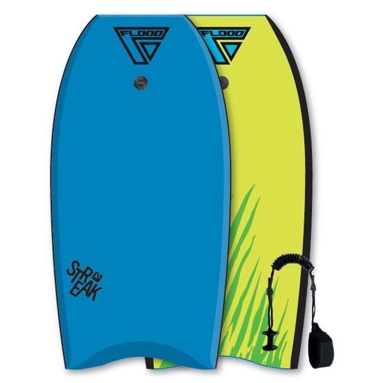 FLOOD Bodyboard Streak 41 Blue-Yellow tiger