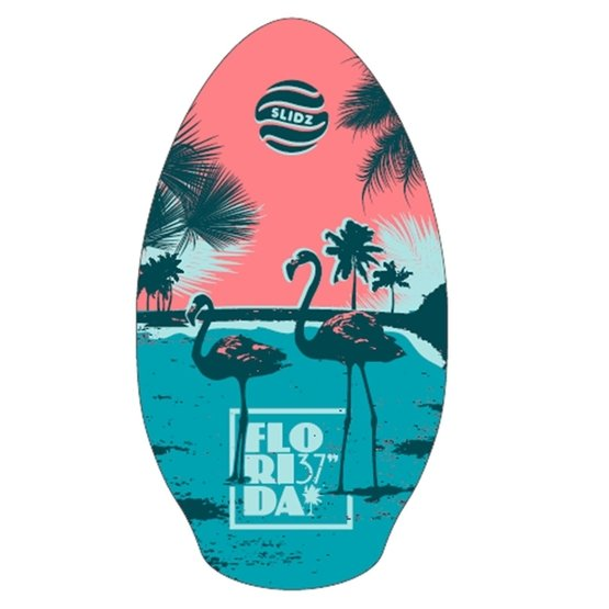 SLIDZ Skimboard 37 95cm Florida Aqua Pink