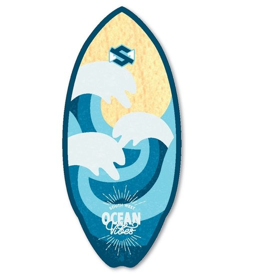 SKIMONE Skimboard 41 105cm Fiberwood Ocean Vibes