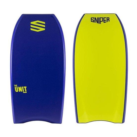 SNIPER Bodyboard Unit PE 44 Blue Yellow