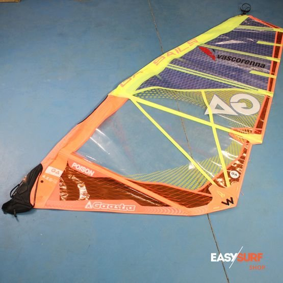 GAASTRA Windsurf sail Poison 4.5 season 2017 [USED]