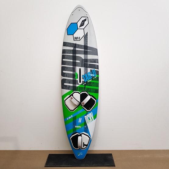 TABOU Windsurf board DaCurve Quadster 86 2018 [TEST]