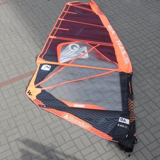 GA-SAILS Windsurf Sail Manic 5.4 2018 [USED]