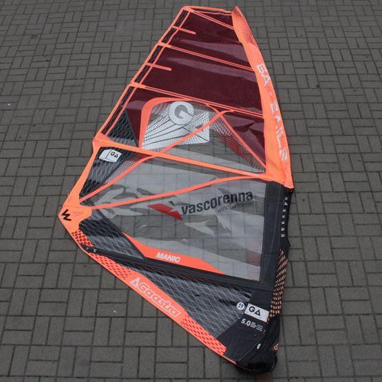 GA-SAILS Windsurf Sail Manic 5.0 2018 [USED]
