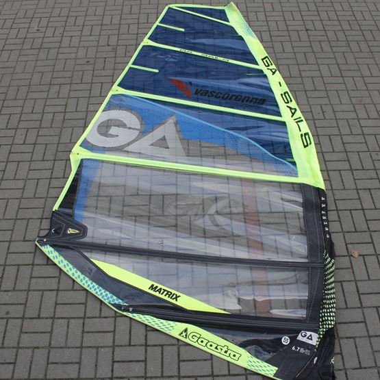 GA-SAILS Windsurf Sail Matrix 6.7 2018 [USED]