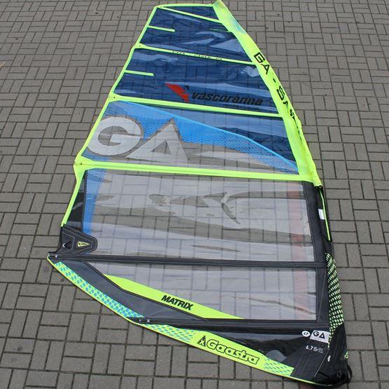 GA-SAILS Żagiel windsurfingowy Matrix 6.7 2018 [UŻYWANY]