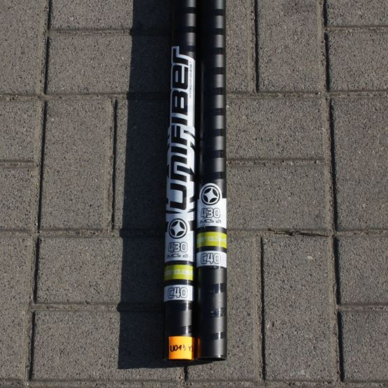 UNIFIBER Windsurf Mast ENDUORO EVO RDM C40 CC 430 [TEST]