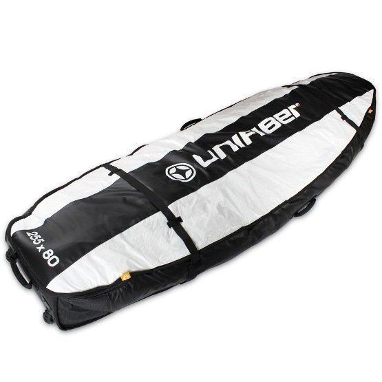 UNIFIBER Boardbag Double Pro 255x80 with XL Wheels