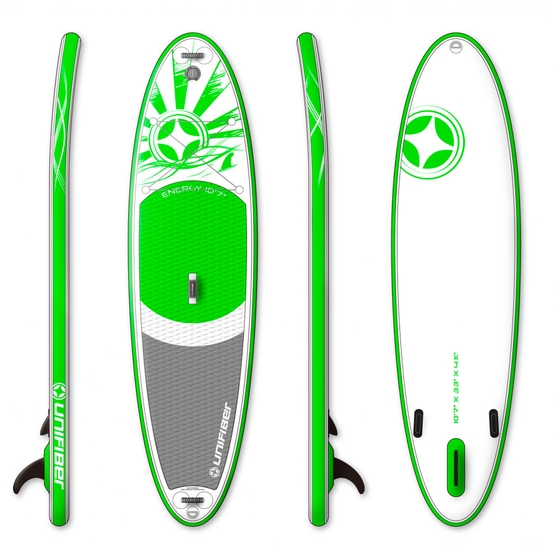 UNIFIBER Inflatable SUP Board Allround Energy 10'7 (Double Layer Technology)
