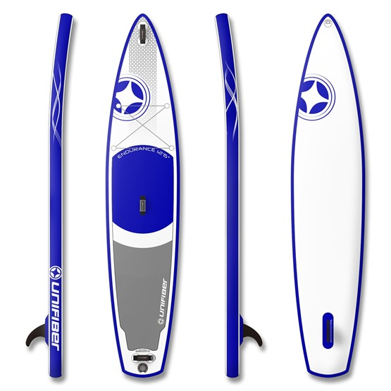 UNIFIBER Inflatable SUP Board Touring Endurance 12'6 (MSL® FUSION Technology)