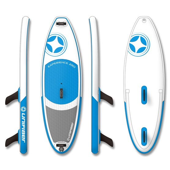 UNIFIBER Inflatable Windsurf Board iWindsurf Experience 280