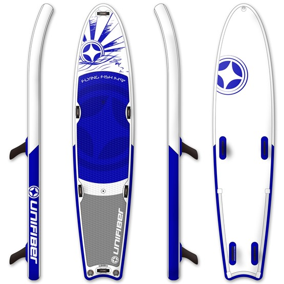 UNIFIBER Inflatable windsurf board FLYING FISH Tandem Event 14'9'' (MSL® FUSION Technology)