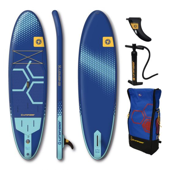 UNIFIBER Inflatable SUP board Energy Allround 10'7 FCD