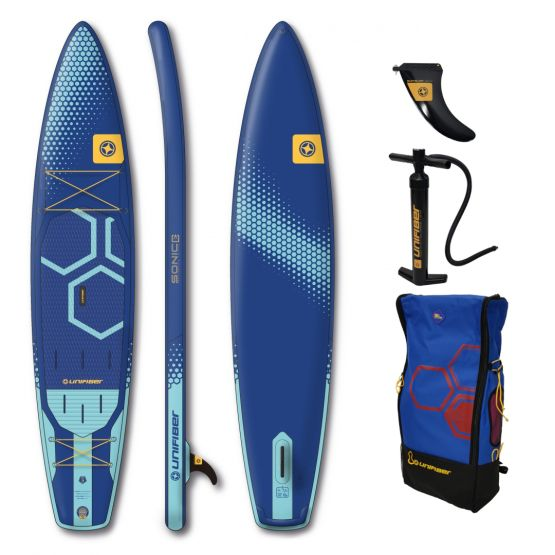 UNIFIBER Inflatable SUP board Sonic Touring 12'6 FCD