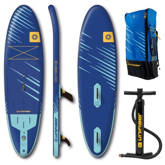 UNIFIBER Inflatable WindSUP board Oxygen 10'7 FCD