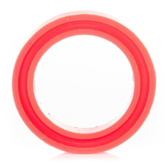 UNIFIBER Action Pump Rubber Ring ID21 x OD30 x Height 5mm Red
