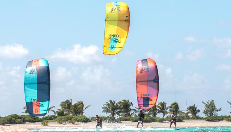 Duotone kiteboarding