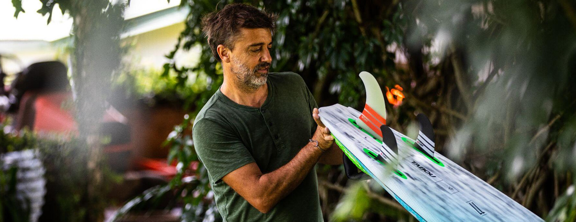 Prezentacja nowych modeli desek windsurfingowych Tabou
