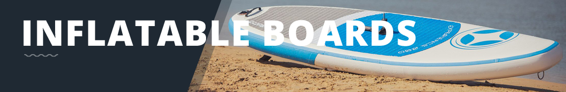 Inflatable windsurf boards