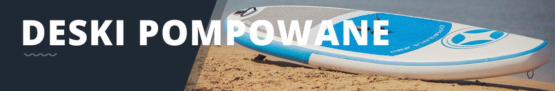 Pompowane deski windsurfingowe