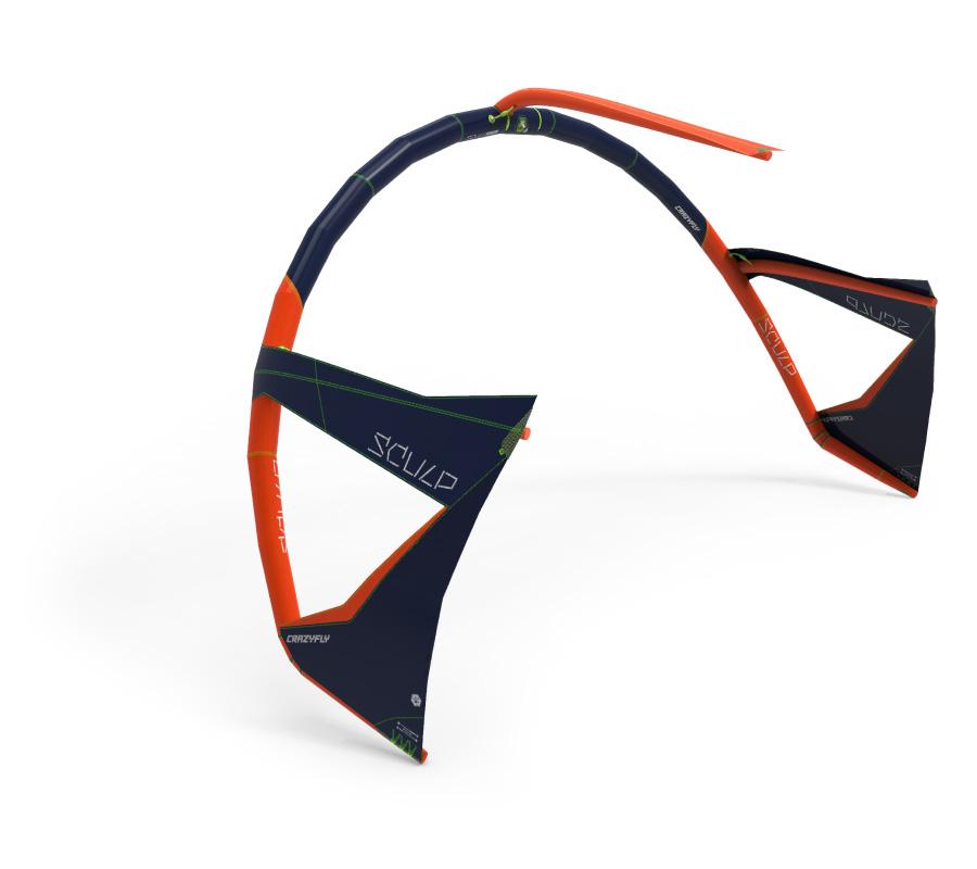 Crazyfly Sculp - Dacron frame