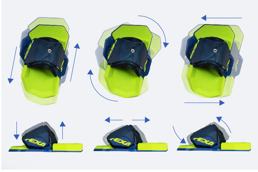 Crazyfly Hexa Bindings - Unlimited Adjustability