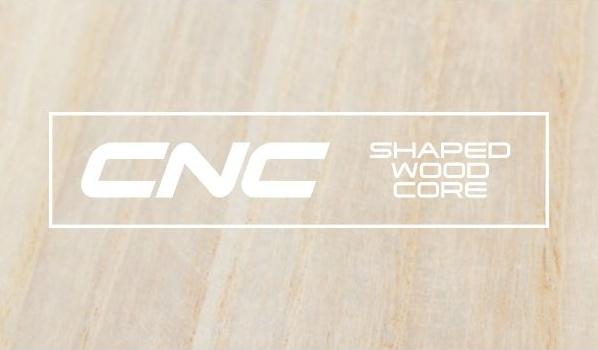 CRAZYFLY Kiteboard Acton - CNC Shaped wood core
