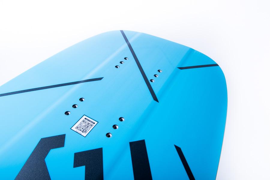 CRAZYFLY Kite foil board Chill - Insert foil mount tech