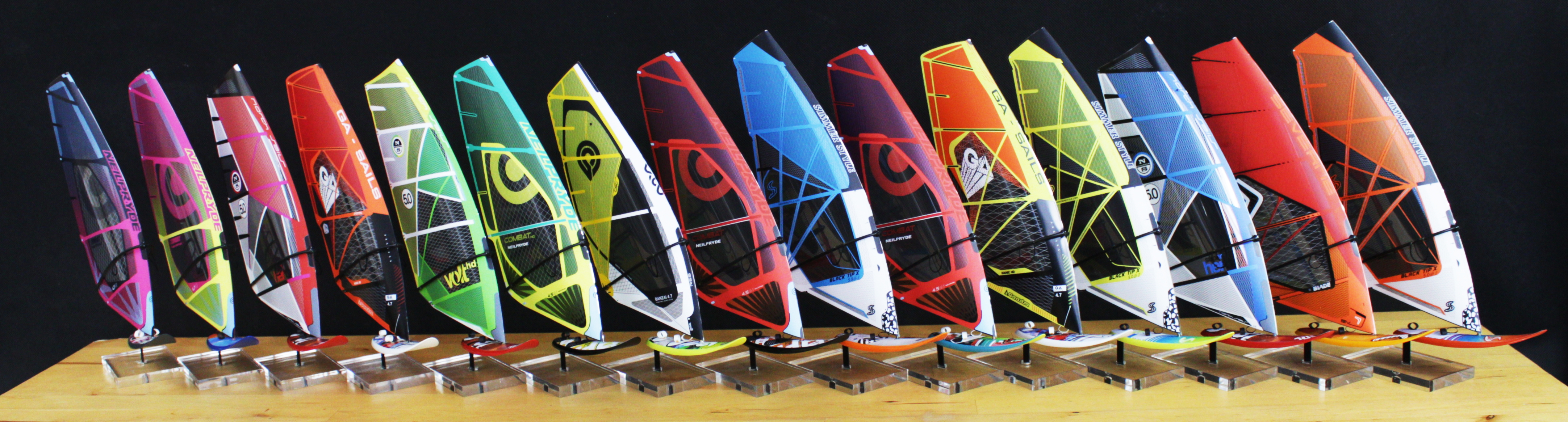 all windsurf wave models