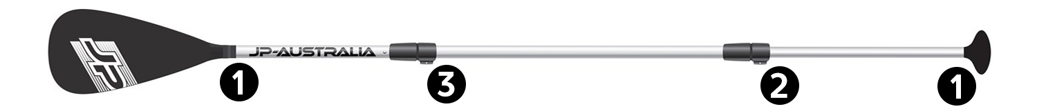 JP Alu paddle Features