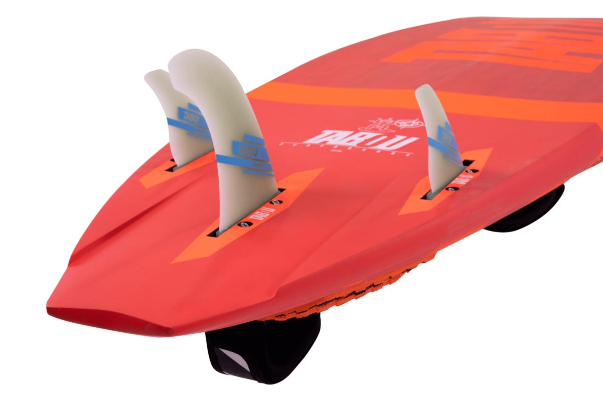 TABOU Windsurf board Da Curve 2022 - THRUSTER FIN SETUP